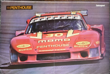 "PORSCHE 935 MOMO 1981 IMSA / ARROWS A3 F1 Double sided. poster 23 x 17""(590 x 435mm)"